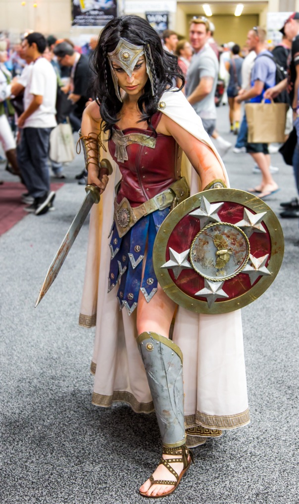 Wonder Woman Battle Dress