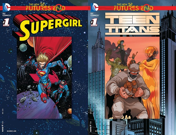 FE - Supergirl - Teen Titans